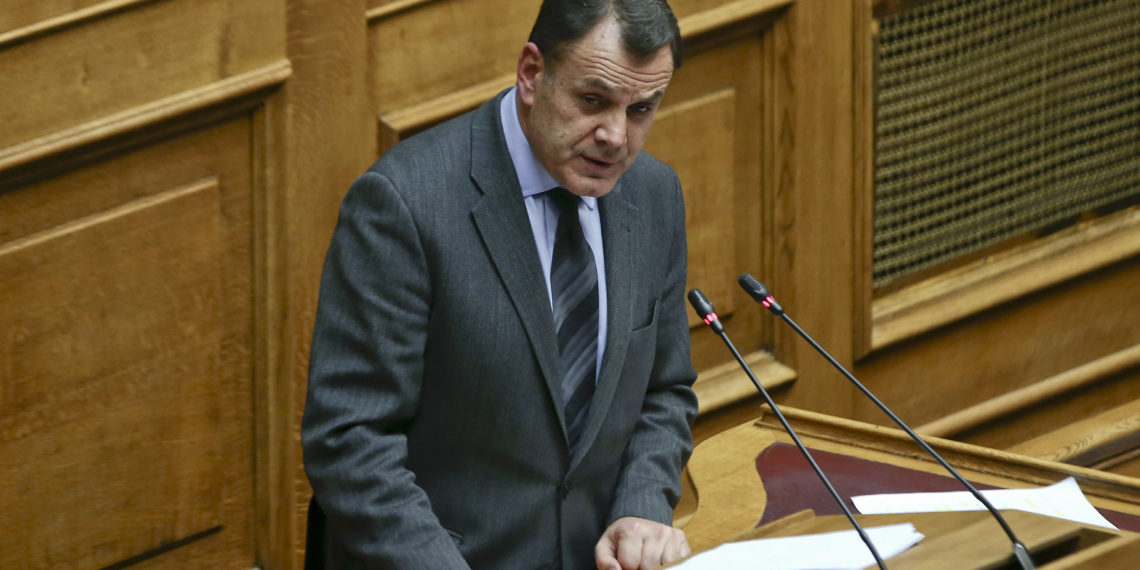 Παναγιωτόπουλος: Έδωσε απαντήσεις για τις «προμήθειες στρατιωτικού υλικού από την Τουρκία»