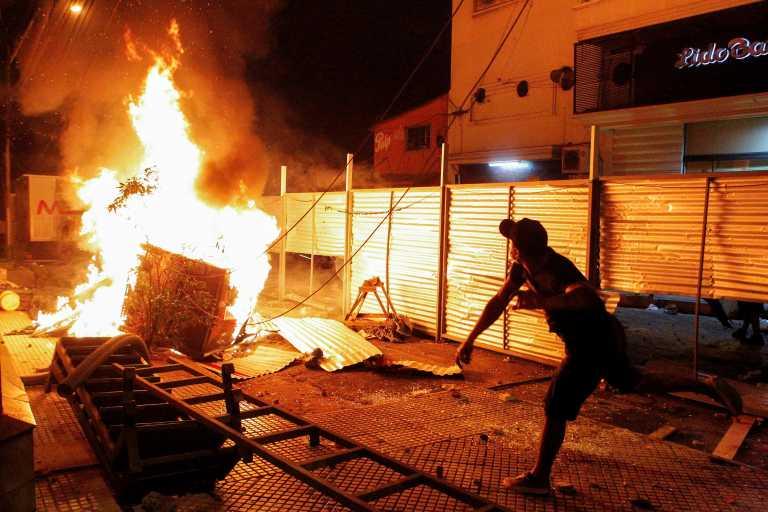 Παραγουάη: Ένας νεκρός διαδηλωτής – Ο Μπενίτες ζητά να παραιτηθούν όλοι οι υπουργοί (video)