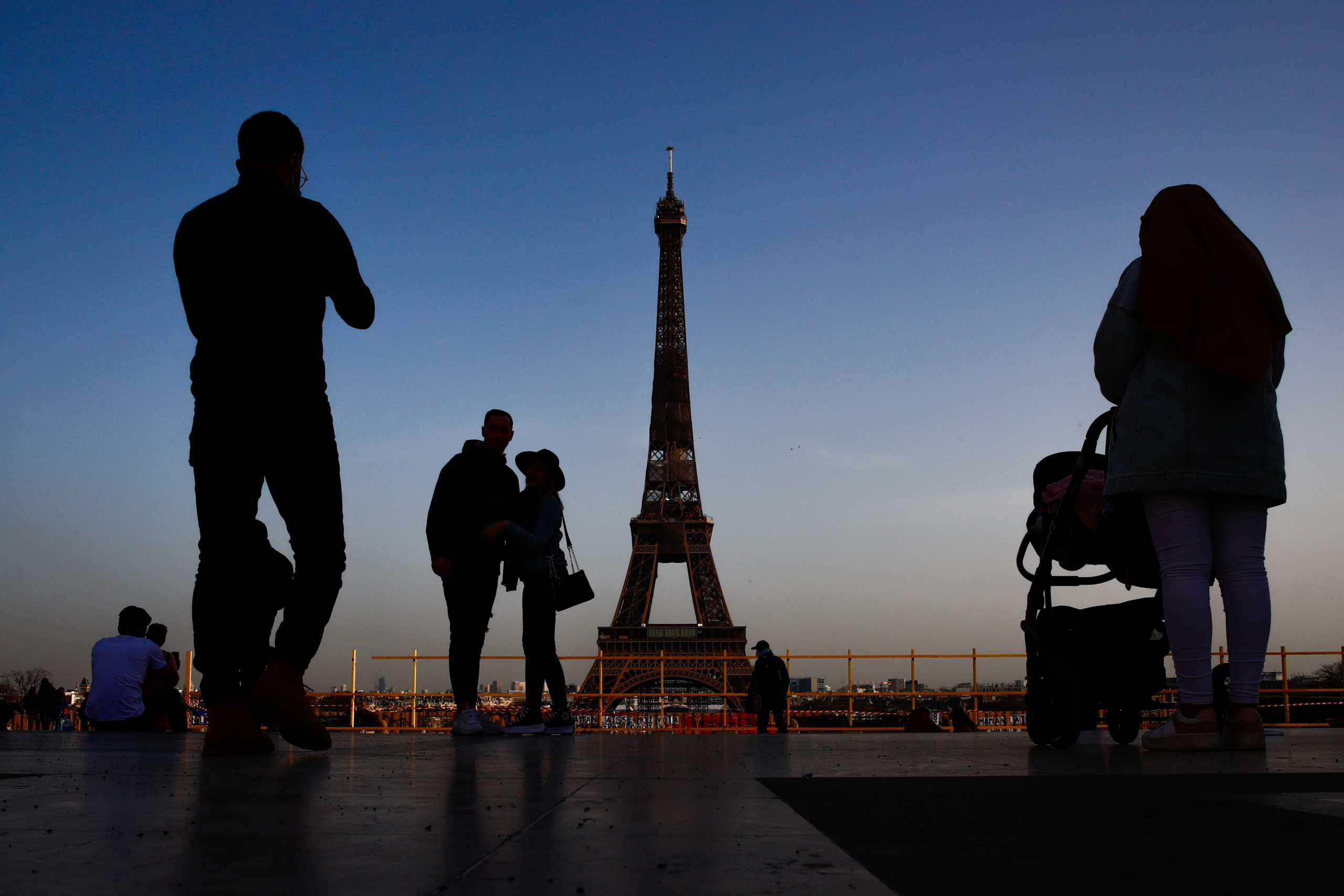 Παρίσι Γαλλία lockdown