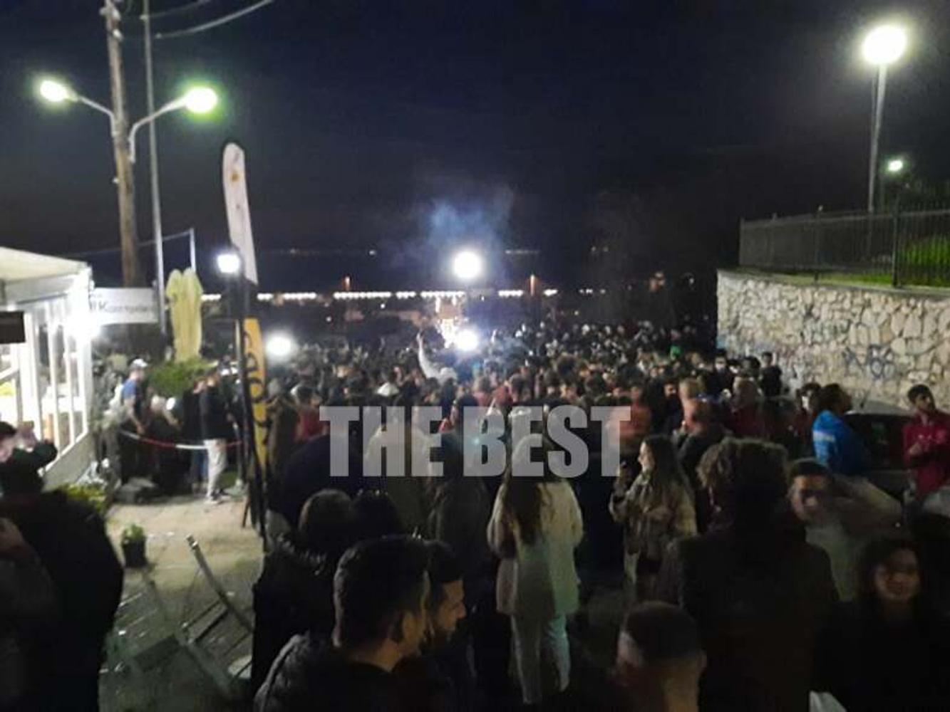 Πάτρα: Τρελό πάρτι σε κεντρικά σημεία της πόλης – Ο ένας πάνω στον άλλον