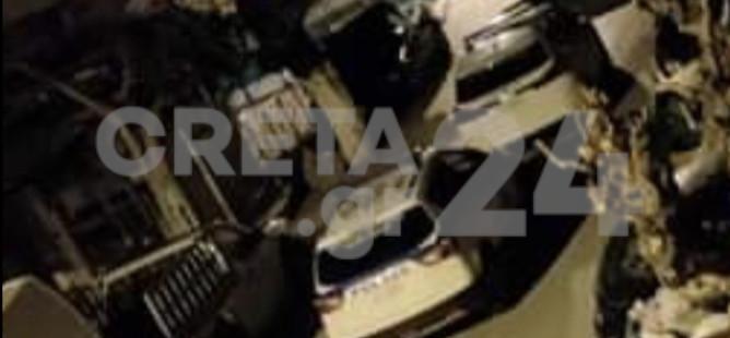 Ηράκλειο: Εικόνες από την έφοδο των αστυνομικών στο κορoνοπάρτι
