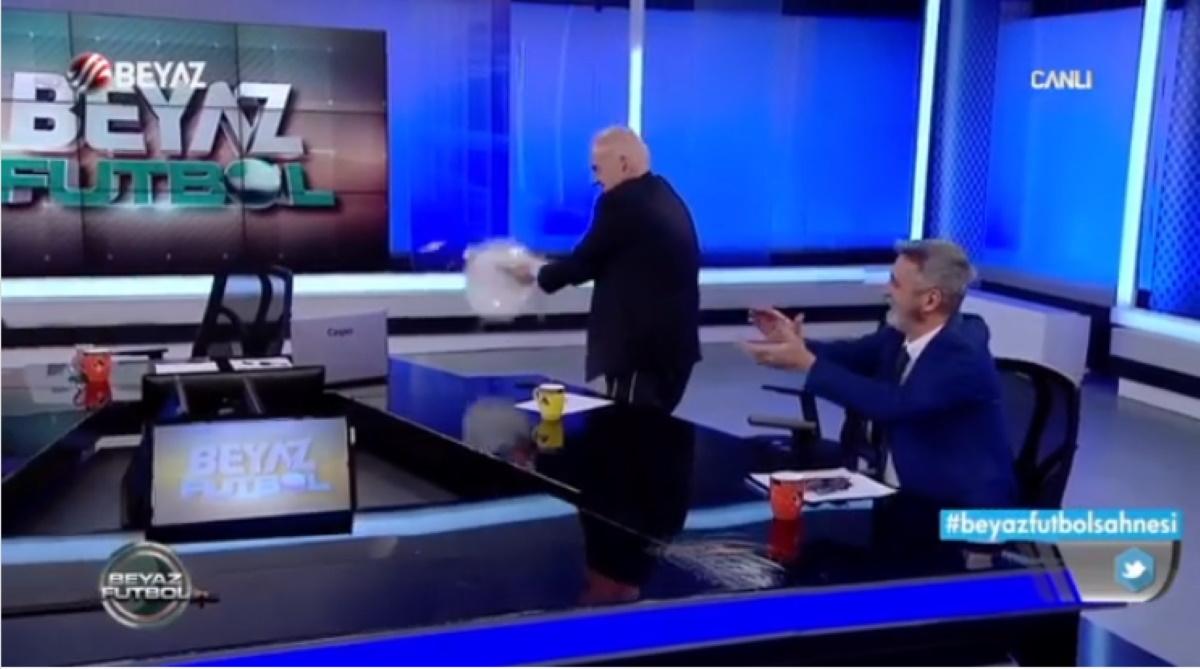 Τρέλα στην Τουρκία για Πέλκα, χόρεψαν συρτάκι κι έσπασαν πιάτα σε αθλητική εκπομπή (video)