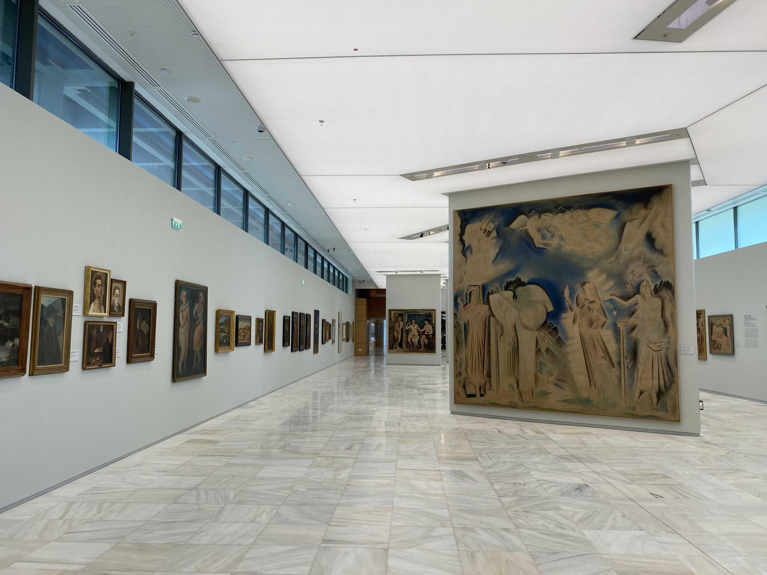 Ανοίγει η Εθνική Πινακοθήκη μαζί με τα μουσεία