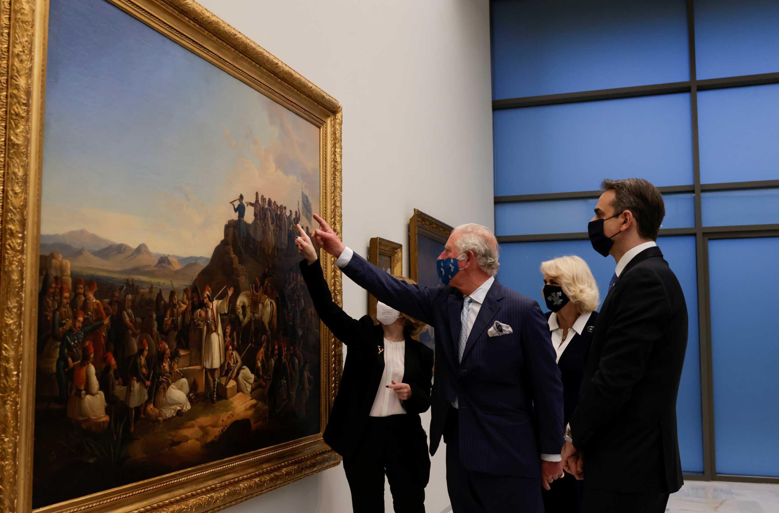 25η Μαρτίου: Η Εθνική Πινακοθήκη άνοιξε τις πόρτες της σε Πρίγκιπες και πρωθυπουργούς