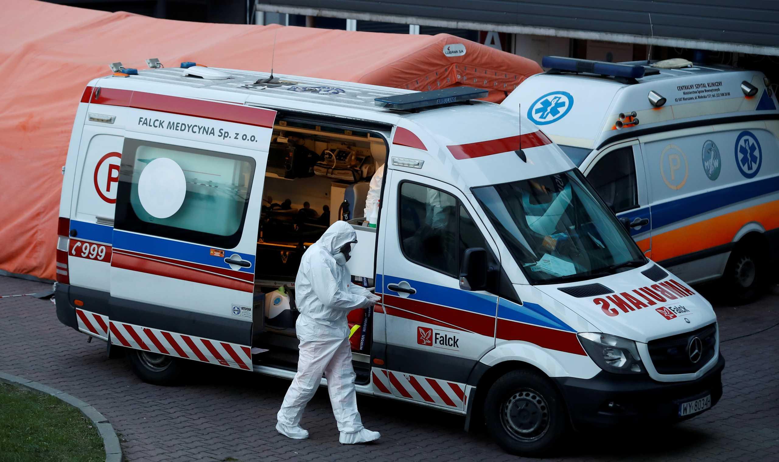 Πολωνία: Σοκ με 653 θανάτους από κορονοϊό το τελευταίο 24ωρο
