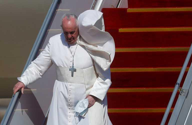Ιστορική επίσκεψη του Πάπα στο Ιράκ (pics, vid)