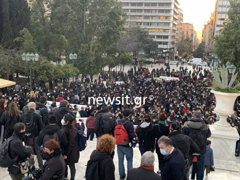 Δημήτρης Κουφοντίνας: Νέα συγκέντρωση και πάλι στο Σύνταγμα