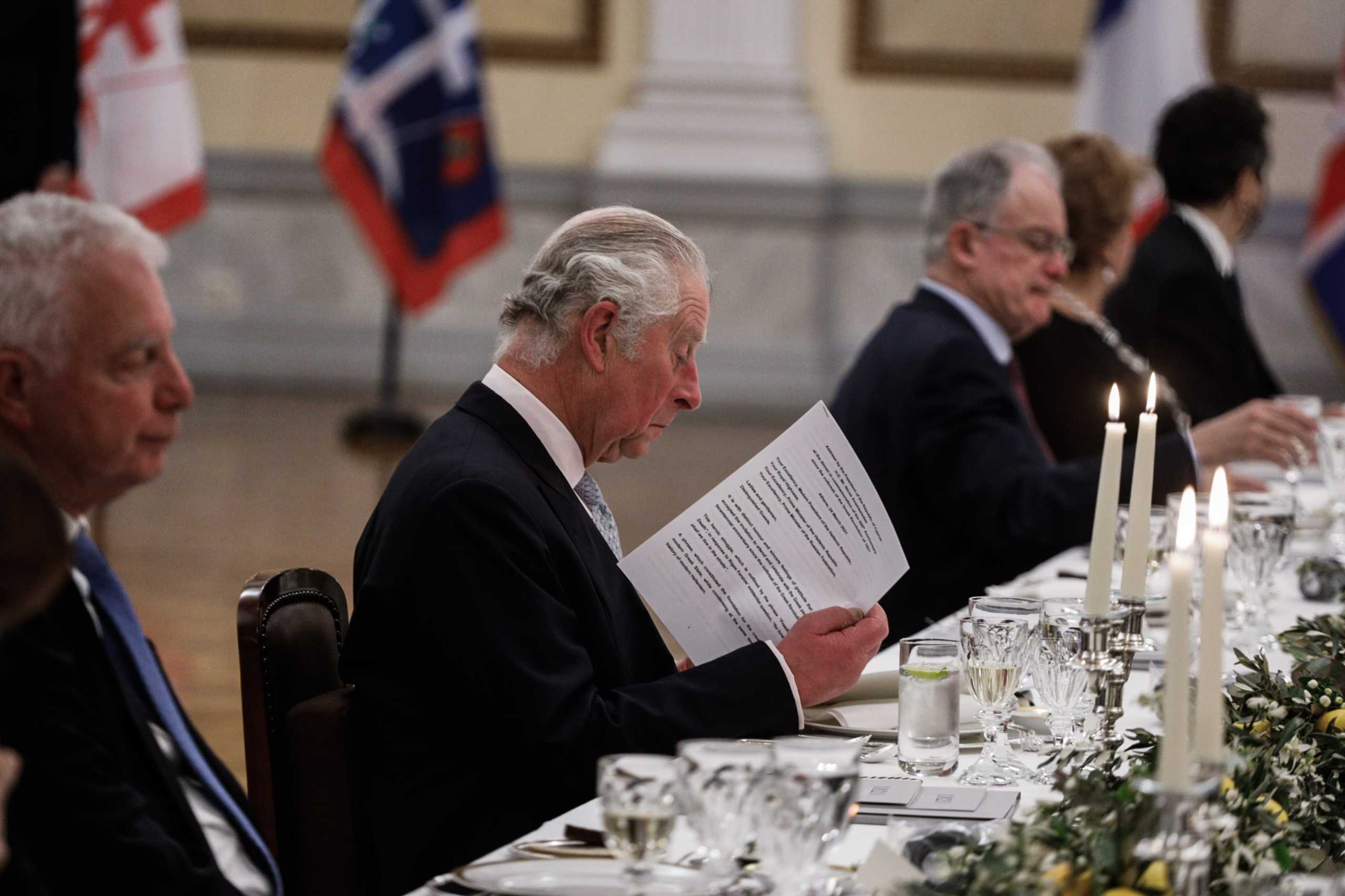 Συγκλόνισε ο πρίγκιπας Κάρολος: Αναφώνησε στα ελληνικά «Χαίρε, ω χαίρε, ελευθεριά, Ζήτω η Ελλάς»