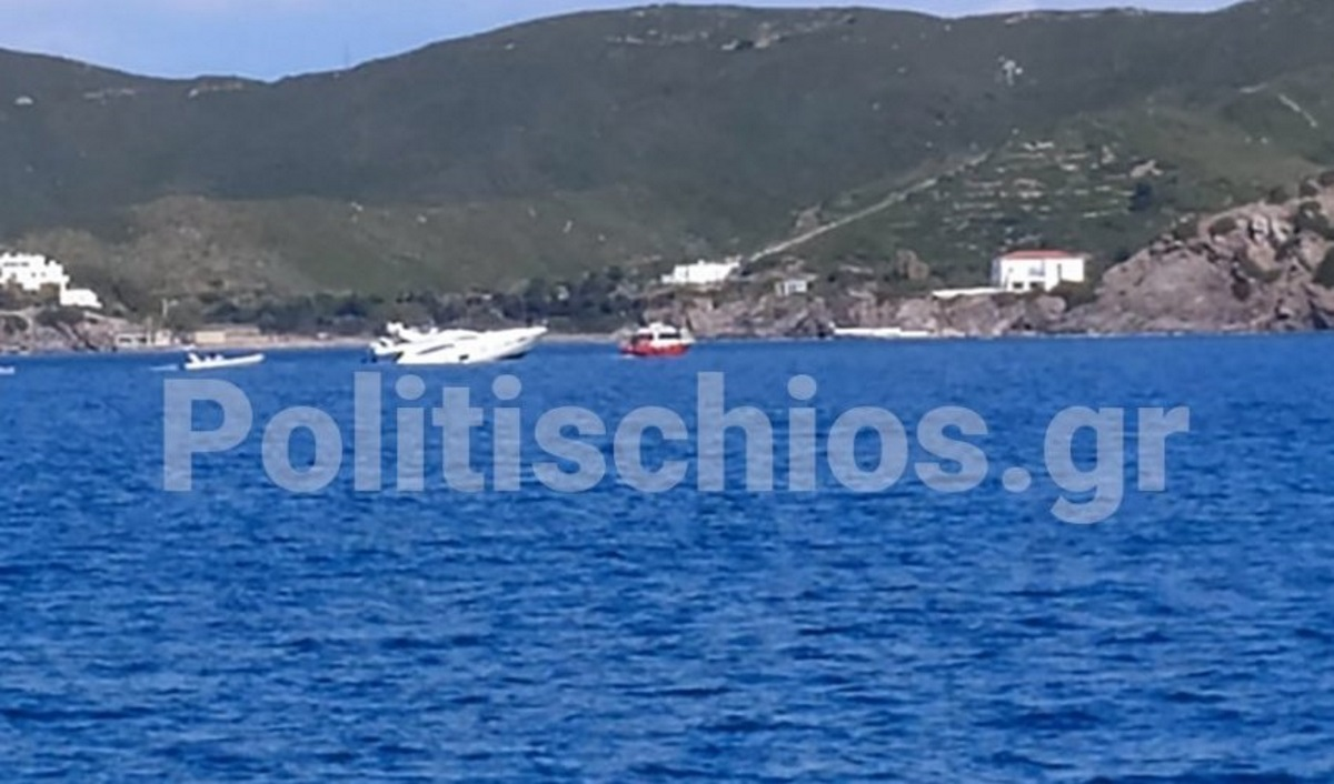 Οινούσσες: Προσάραξη σκάφους στη νησίδα Πρασονησίου – Στο σημείο πλωτό του Λιμενικού (pic)