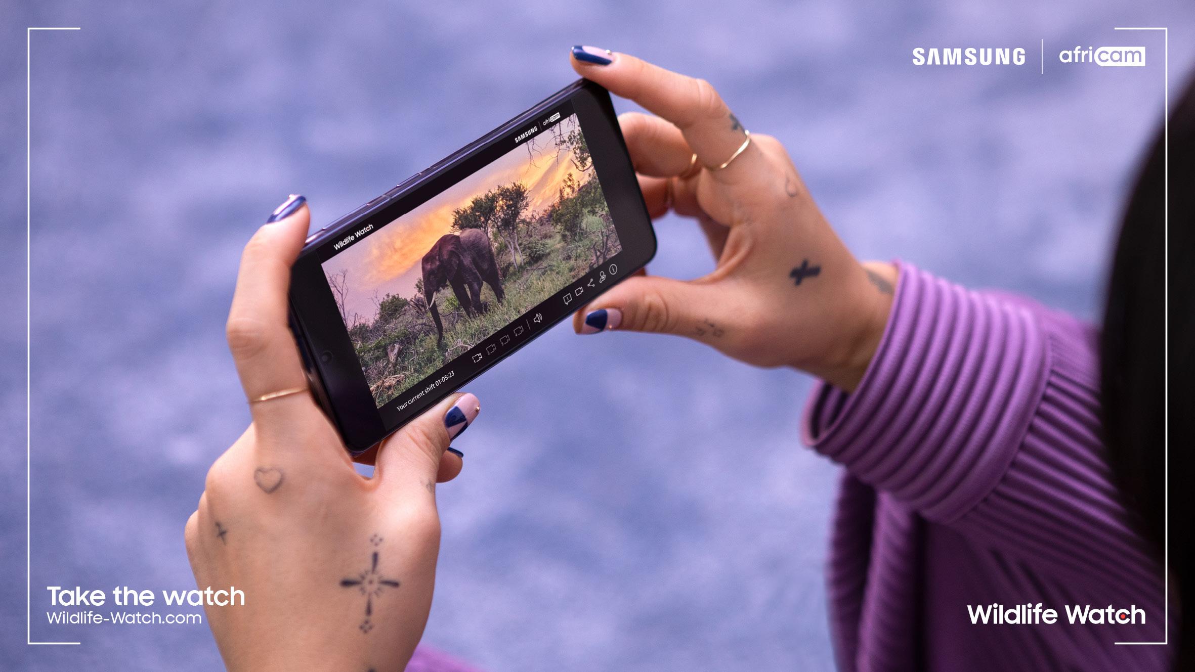 Samsung: Καλεί τον κόσμο να προστατεύσουν μαζί τα άγρια ζώα