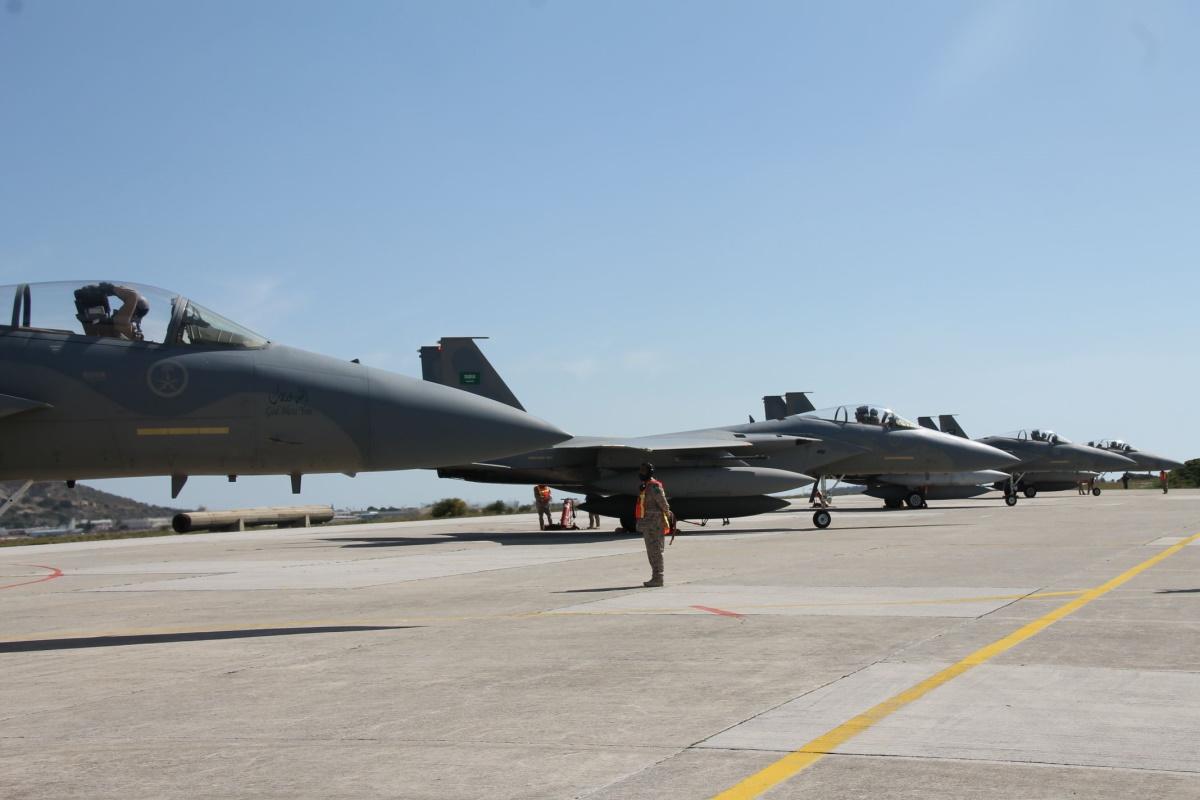 Στην 115 ΠΜ τα έξι F-15 της Σαουδικής Αραβίας [pics]