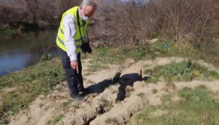 Σεισμός Ελασσόνα: Έτσι άνοιξε το έδαφος από το χτύπημα του Εγκέλαδου