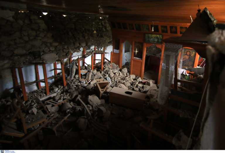 Σεισμός στην Ελασσόνα: «Μάχη» να αποκατασταθούν οι ζημιές