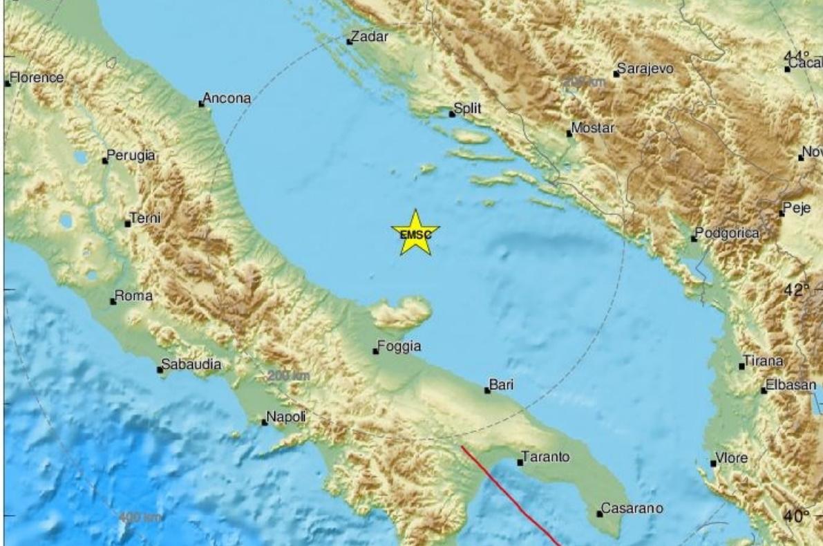 Σεισμός 5,4 Ρίχτερ στην Ιταλία