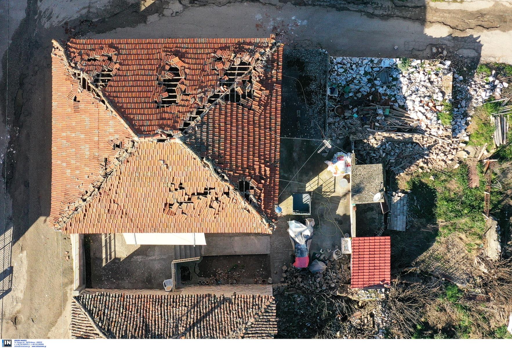 seismos Damasi 2 Intime 04 03 2021 - Δείτε από ψήλα τον σεισμό στο Δαμάσι - Εφιαλτικές περιγραφές