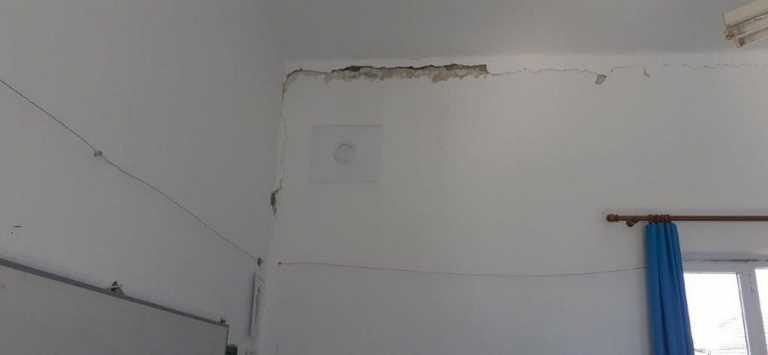 Καρδίτσα – σεισμός: Ακατάλληλο το Δημοτικό Σχολείο στον Κοσκινά μετά τα 6 ρίχτερ (pics)