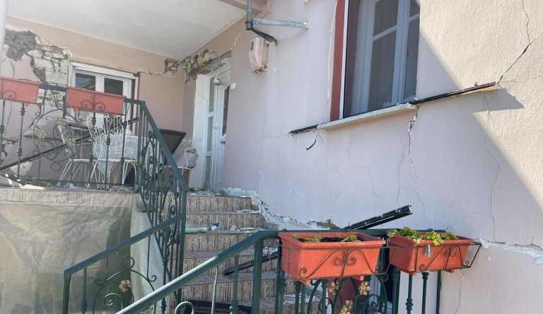 Σεισμός – Μεσοχώρι Ελασσόνας: Εδώ έμενε ο ηλικιωμένος που απεγκλωβίστηκε