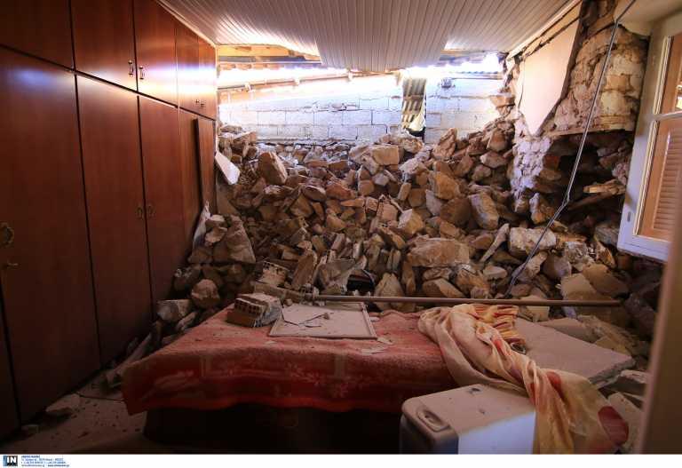 Σεισμός Ελασσόνας: Εικόνες καταστροφής – Σε σκηνές οι κάτοικοι των χωριών που επλήγησαν (video, pics)