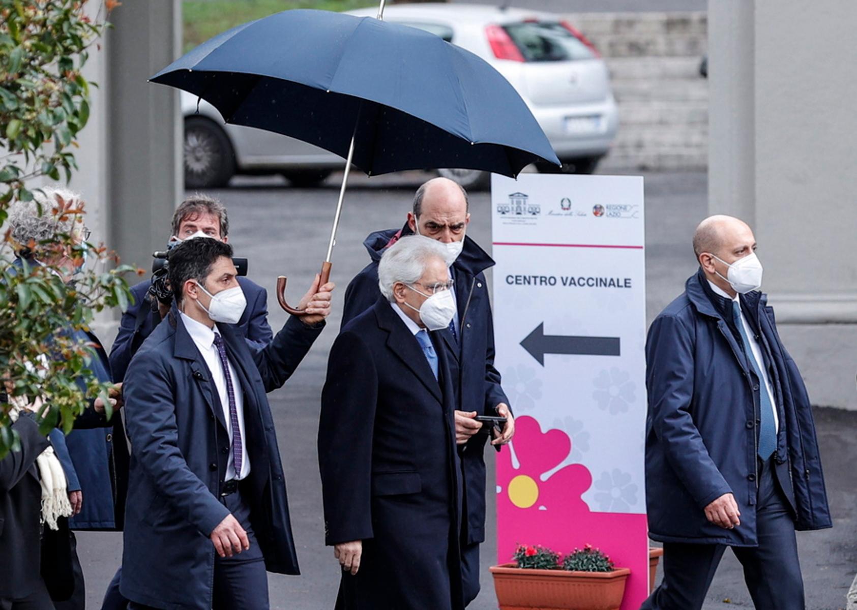 Ιταλία: Ο πρόεδρος Σέρτζιο Ματαρέλα έκανε το εμβόλιο κατά του κορονοϊού