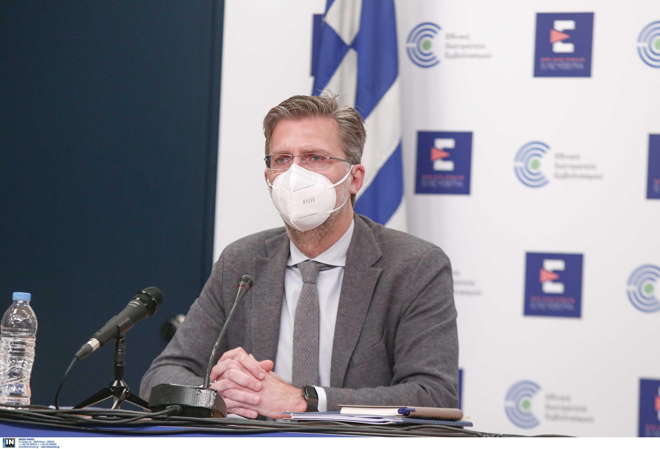 Σκέρτσος: Ο ΣΥΡΙΖΑ συμπεριφέρεται σαν να μην θέλει να τελειώσει η πανδημία