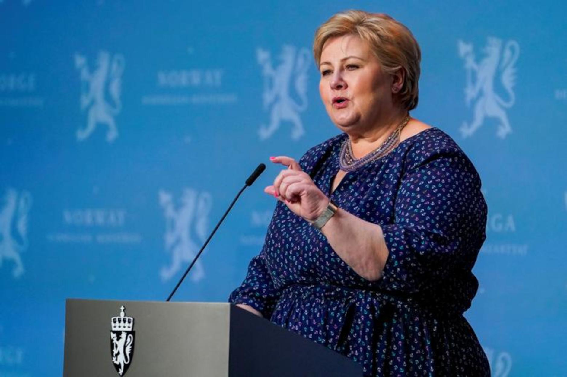 Κορονοϊός: «Τσουχτερό» το πρόστιμο στην πρωθυπουργό της Νορβηγίας για το κορονο-πάρτι γενεθλίων