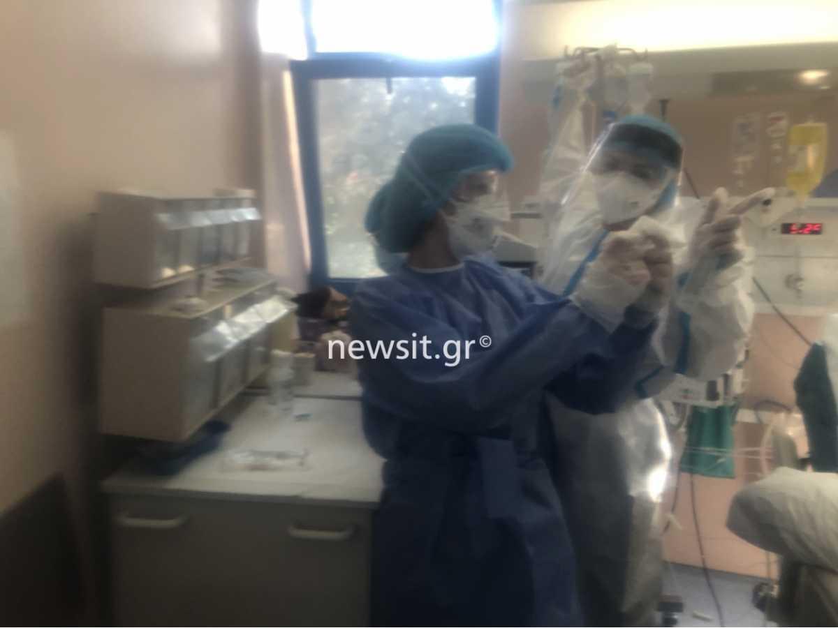 Κραυγή αγωνίας πνευμονολόγου στη ΜΕΘ του «Σωτηρία»: «Ζούμε τη σκληρή στιγμή του θανάτoυ, λεπτό το λεπτό»
