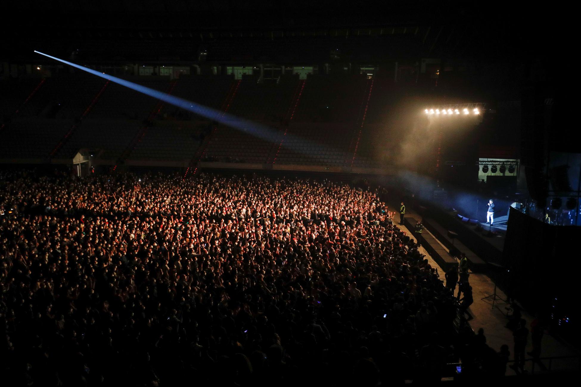Βαρκελώνη συναυλία κορονοϊός