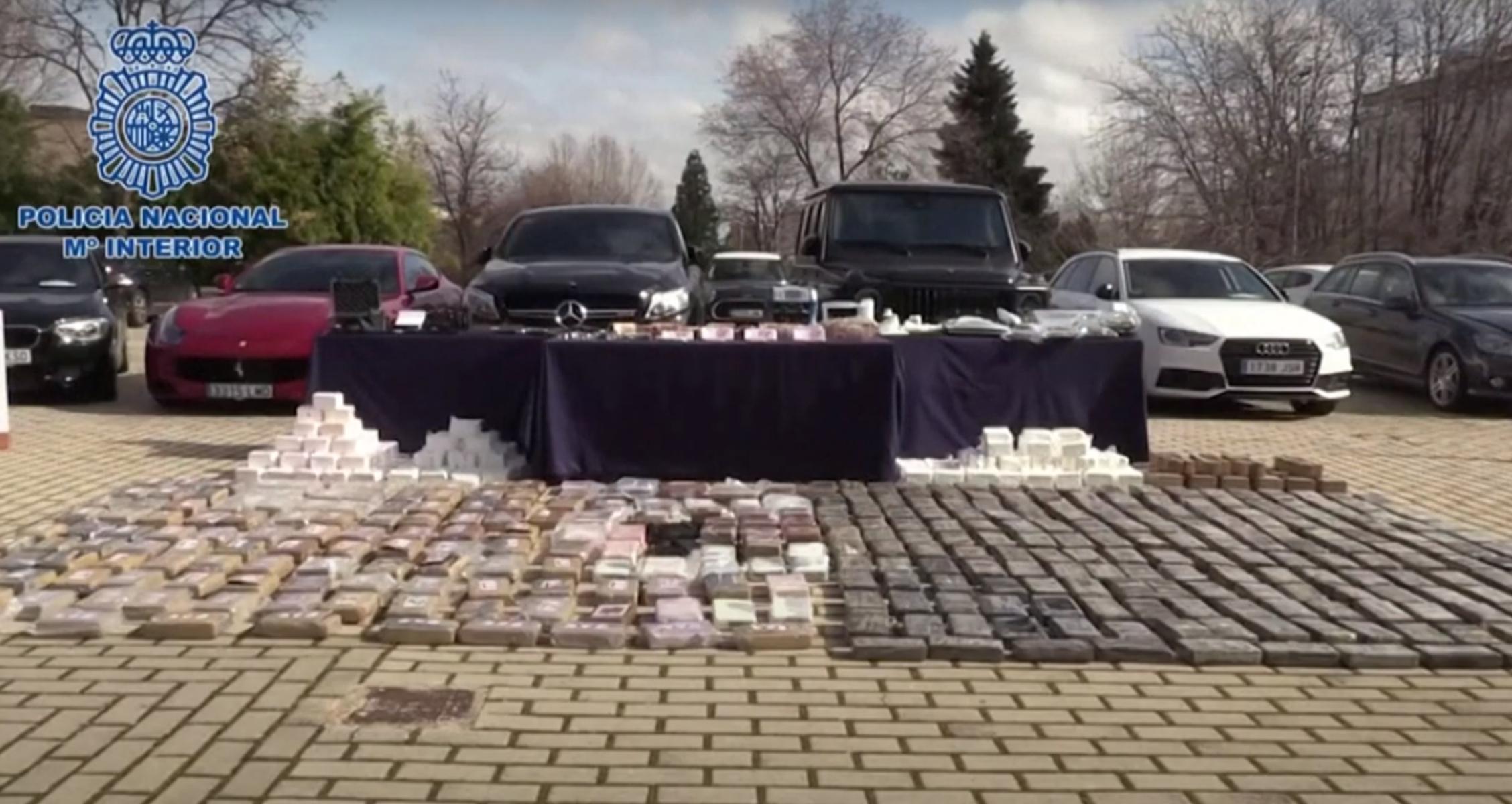 Ισπανία: Εξαρθρώθηκε μια από τις μεγαλύτερες συμμορίες διακίνησης ναρκωτικών – Κατασχέθηκαν 600 κιλά κοκαΐνης
