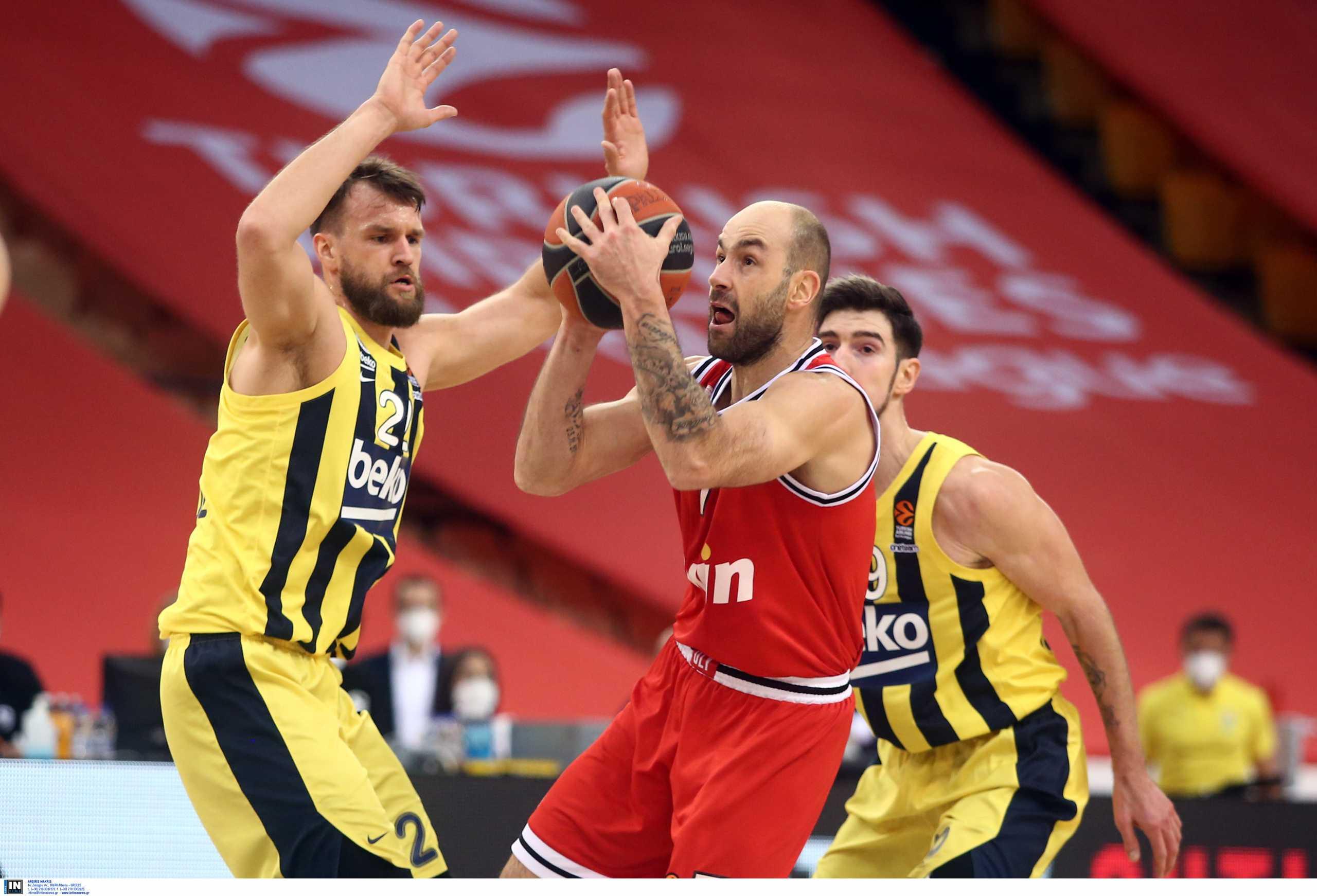 Βαθμολογία Euroleague: Αποκλείστηκε ο Ολυμπιακός μετά την ήττα από τη Φενέρμπαχτσε