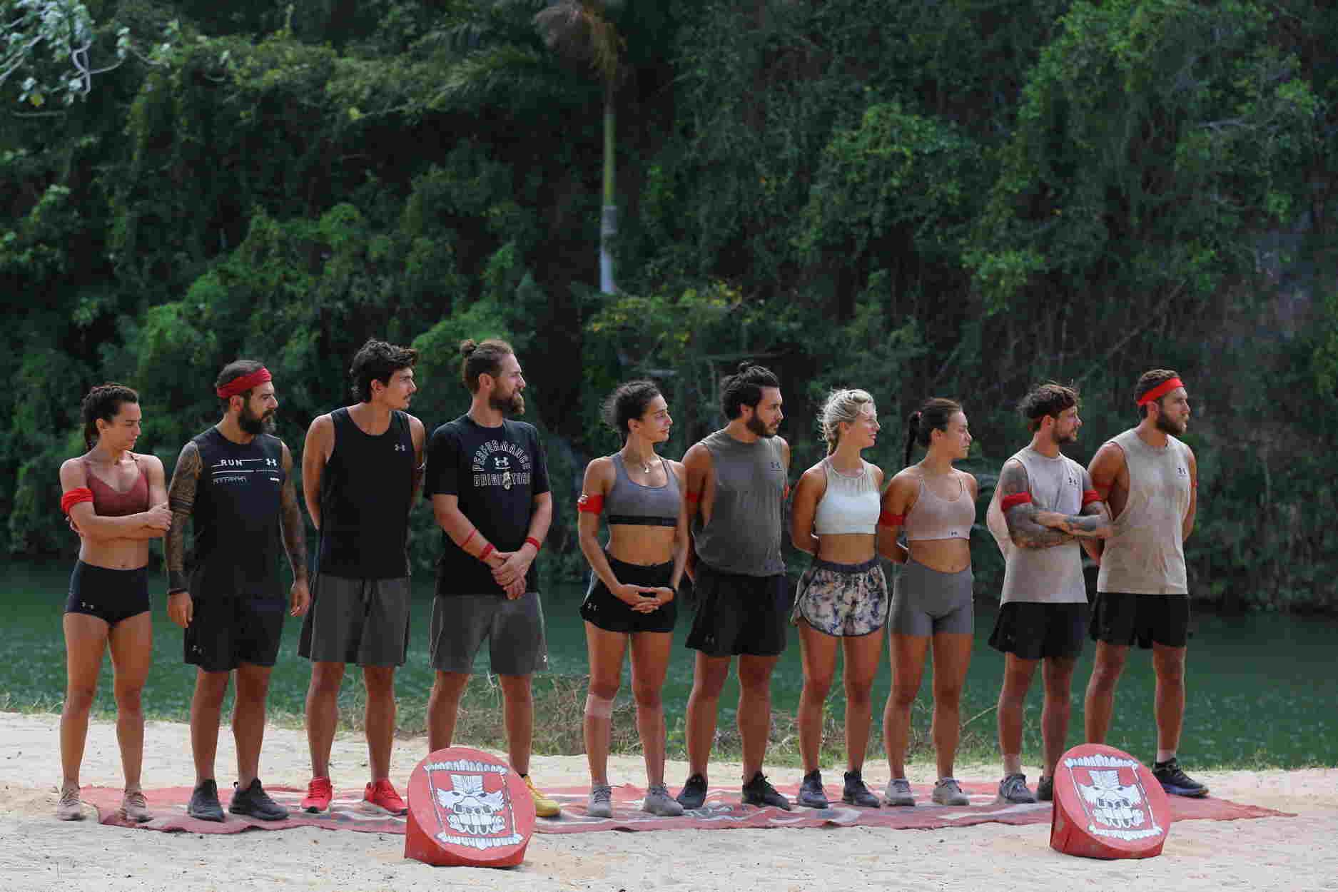 Survivor: Ένταση στην κόκκινη ομάδα – Σκληρή μάχη για την δεύτερη ασυλία