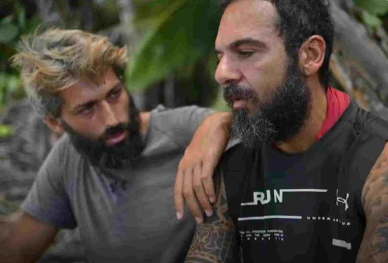 Survivor: Μαριαλένα και Τριαντάφυλλος λυγίζουν μπροστά στην κάμερα
