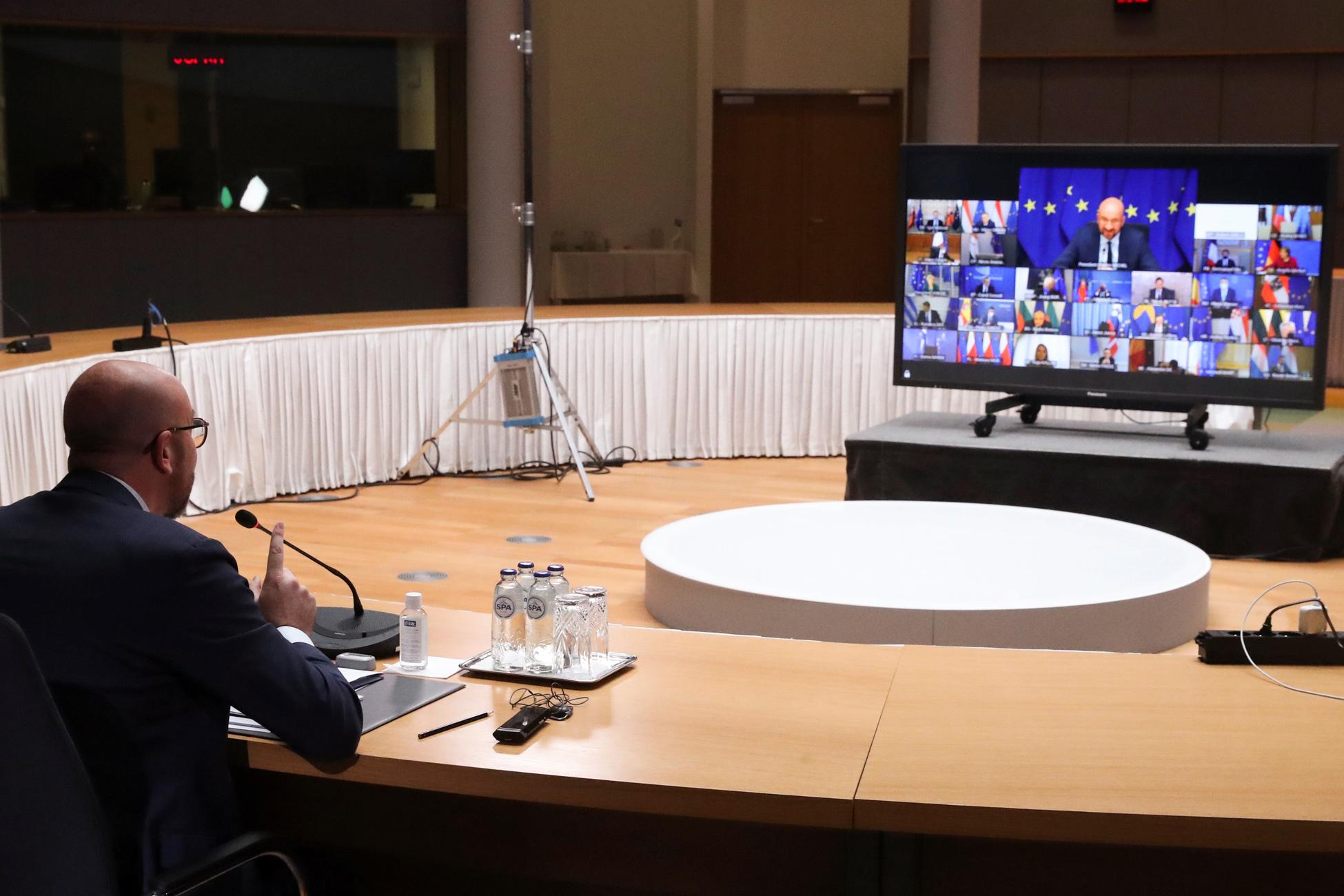 Σύνοδος Κορυφής: Να σταματήσει η Τουρκία τις μονομερείς ενέργειες – Το κοινό ανακοινωθέν των 27 ηγετών