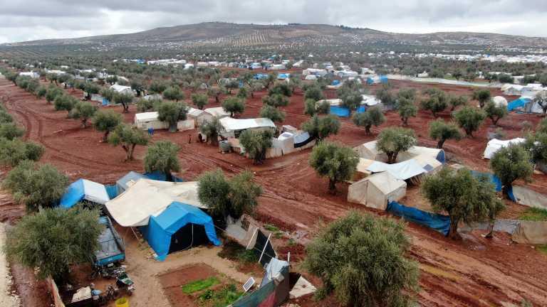 Συρία: Τέσσερα παιδιά νεκρά από φωτιά σε καταυλισμό