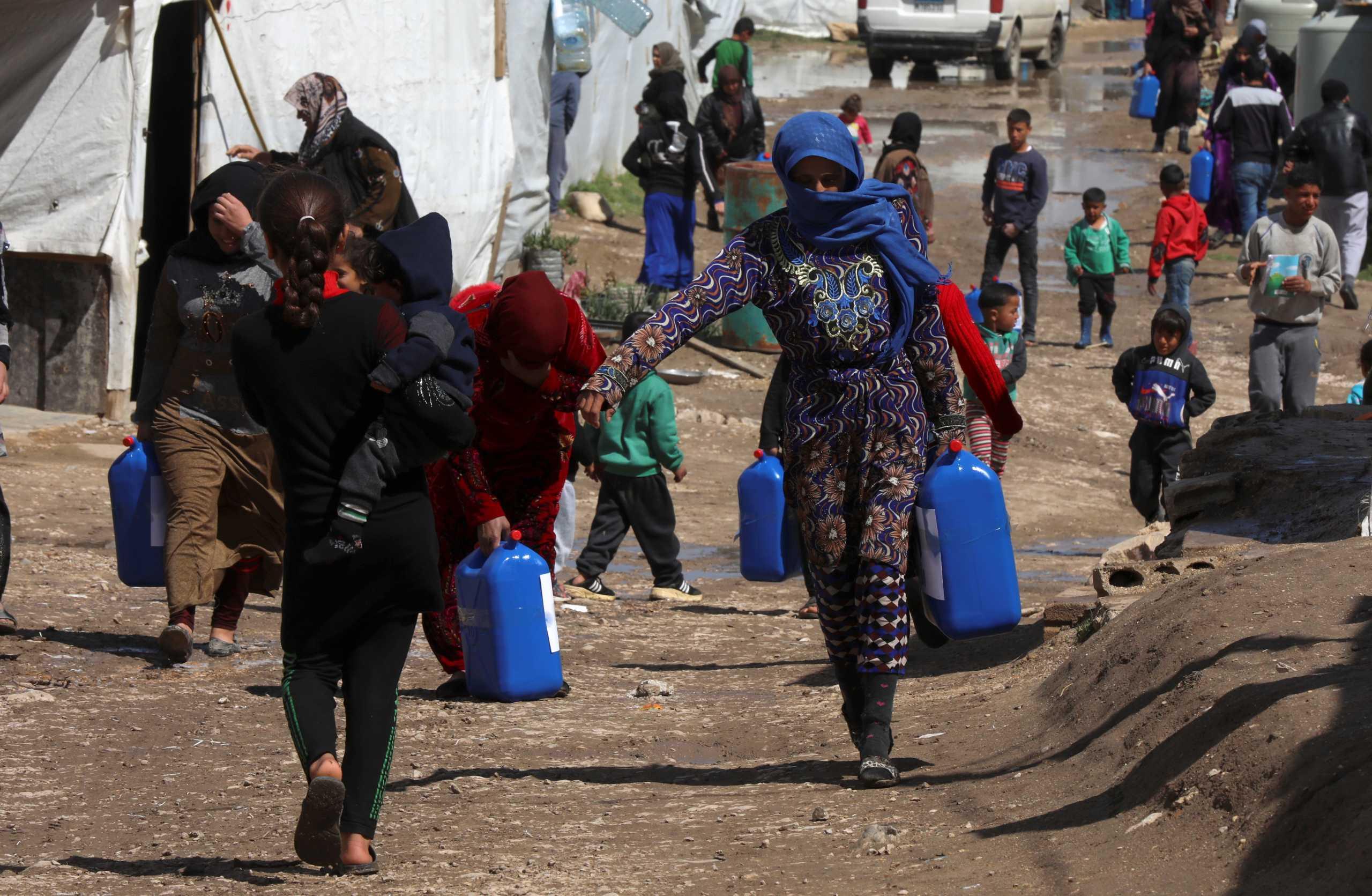 Συρία: 62 παιδιά έχουν χάσει τη ζωή τους σε καταυλισμούς προσφύγων – Μαρτυρίες μέσα από τα camp