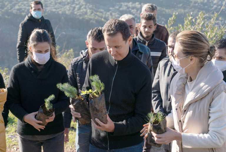 Συρία: Θετικοί στον κορονοϊό ο Άσαντ και η σύζυγός του