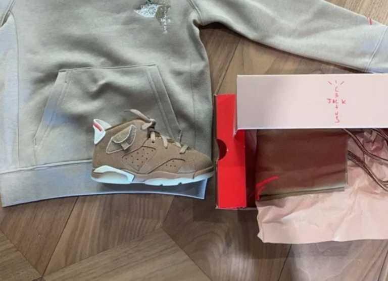 Ο Τράβις Σκοτ αποκάλυψε ακόμα ένα sneaker που πρόκειται να γίνει sold-out!