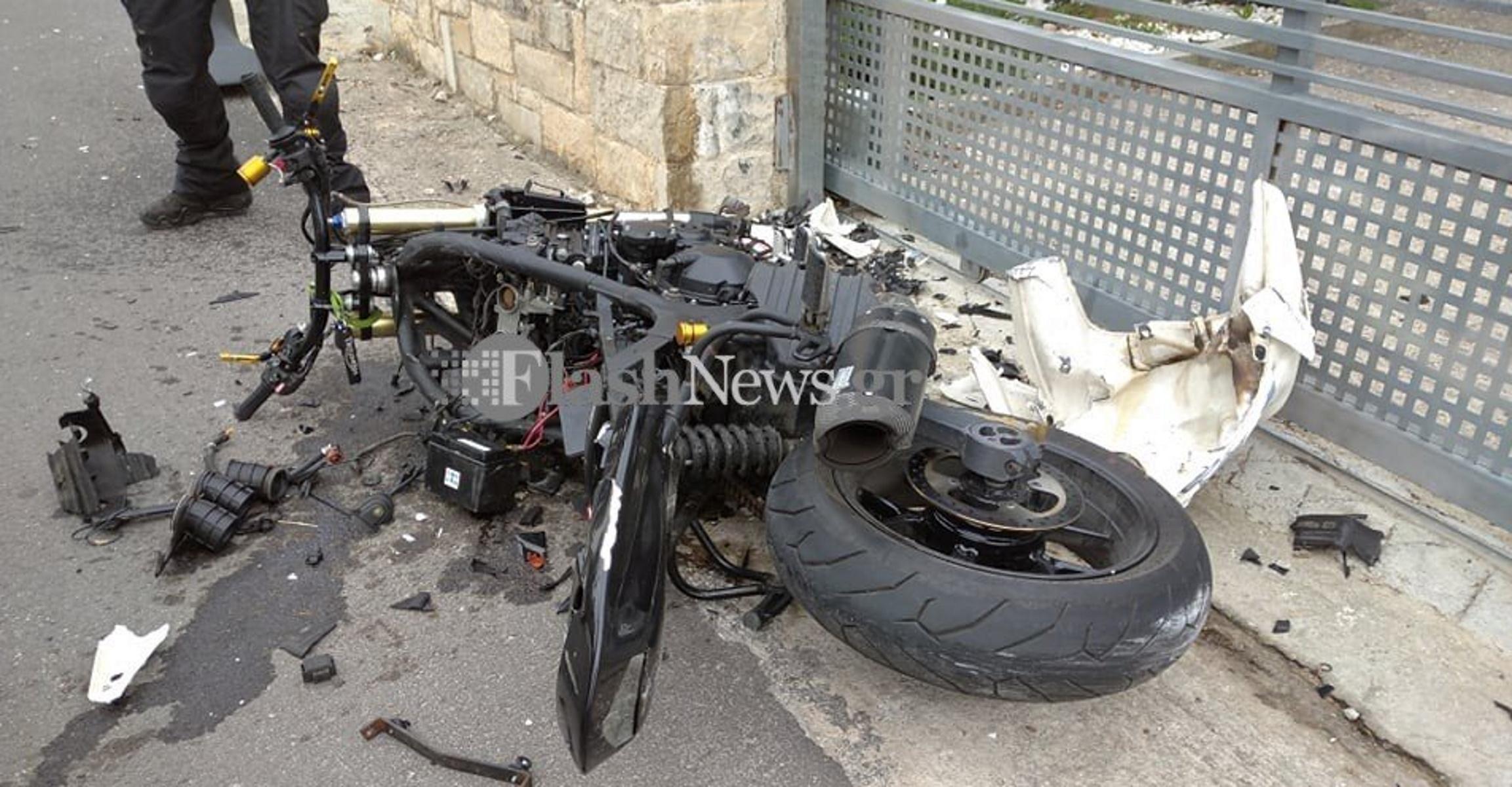 Χανιά: 27χρονος μοτοσικλετιστής ξεψύχησε στην άσφαλτο – Εικόνες που σοκάρουν