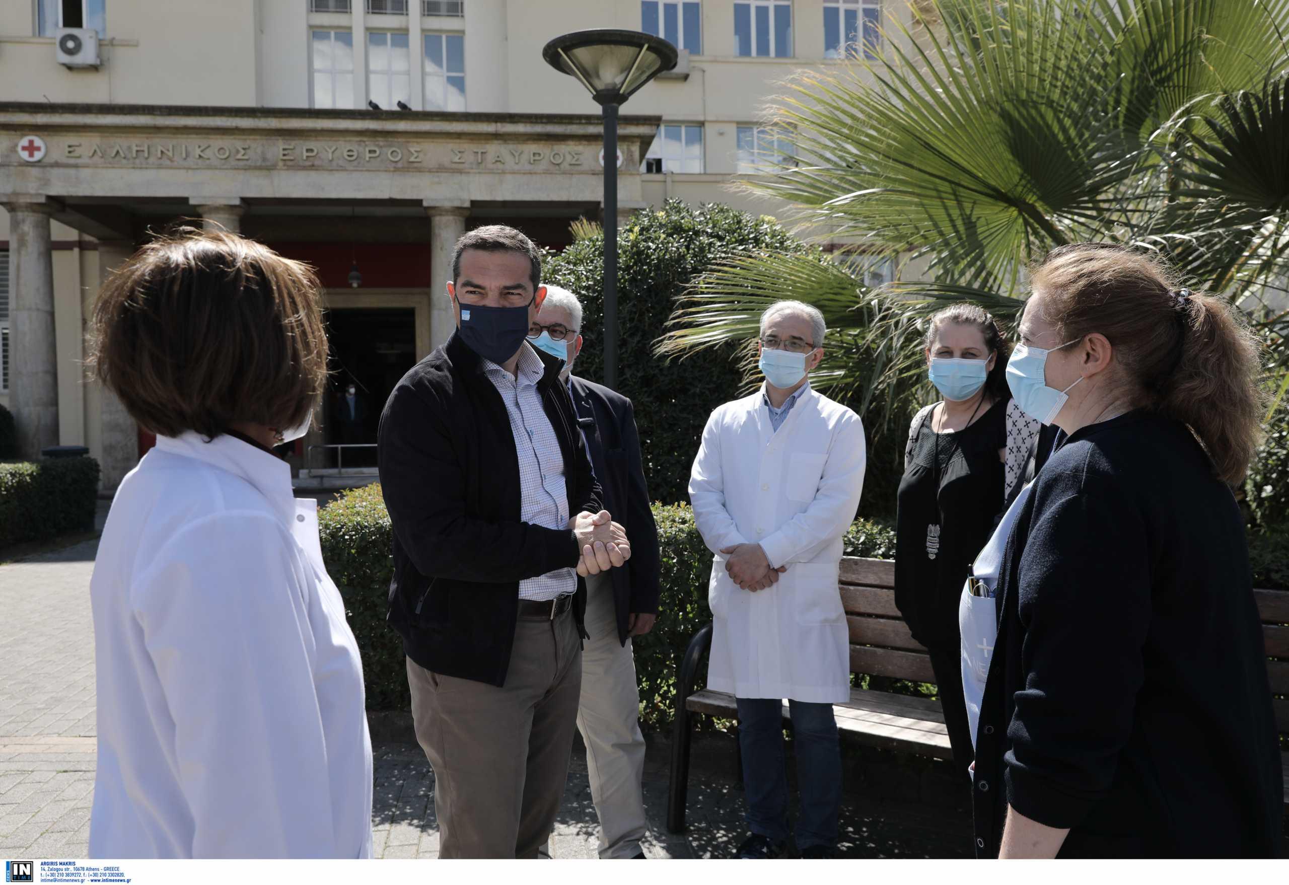Τσίπρας από Ερυθρό Σταυρό: Χωρίς σχέδιο η κυβέρνηση – Γιατί αφήνουν τις ιδιωτικές κλινικές covid – free;