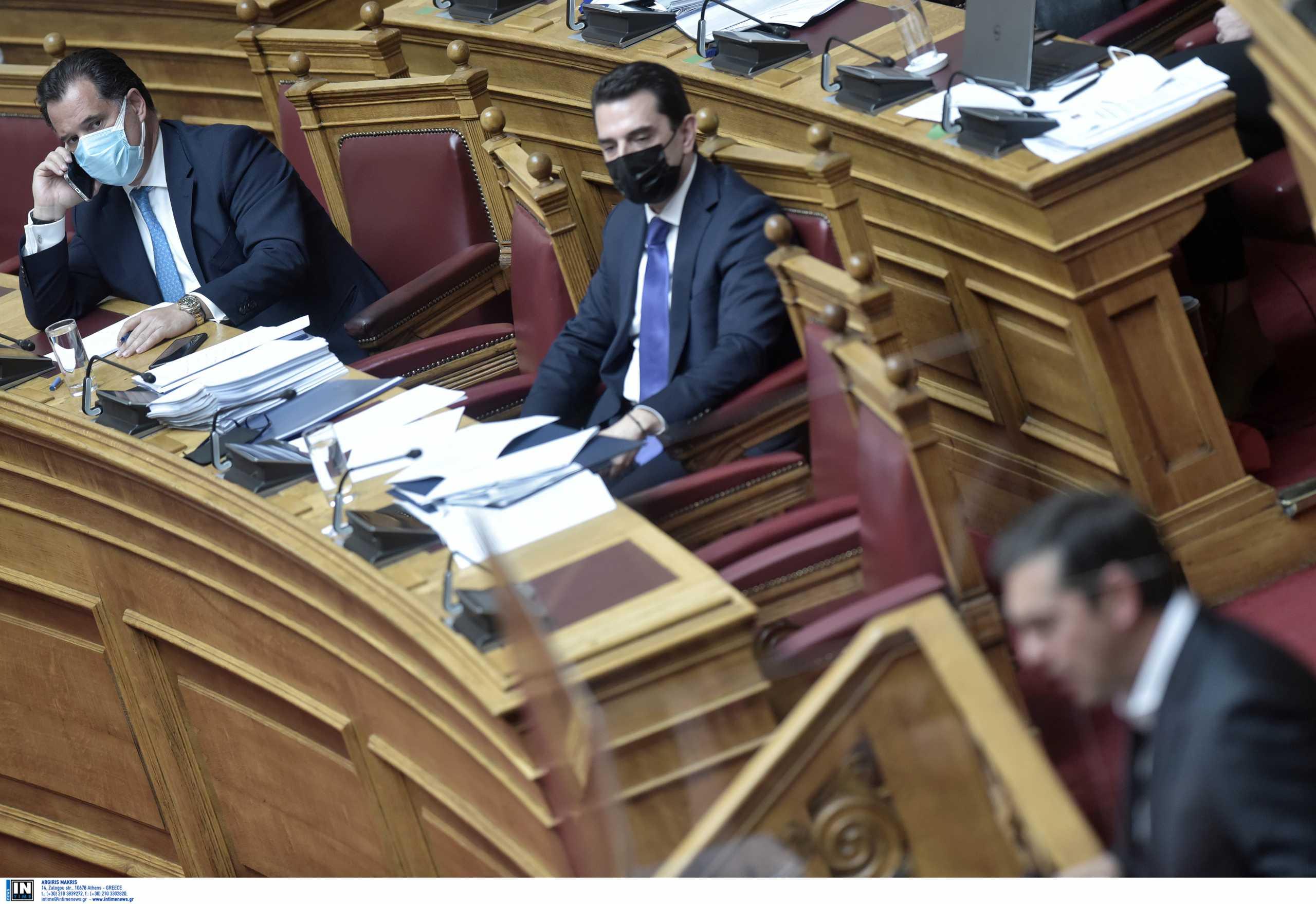 Τσίπρας σε Γεωργιάδη: Ήρθε ο νονός; Πάντα άξιος και… χαμός στη Βουλή (video)