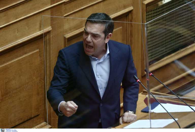 Επίθεση Τσίπρα στην κυβέρνηση και «άδειασμα» Πολάκη: Ούτε η ΝΔ δοσίλογοι, ούτε ο Κολοκοτρώνης ΣΥΡΙΖΑ