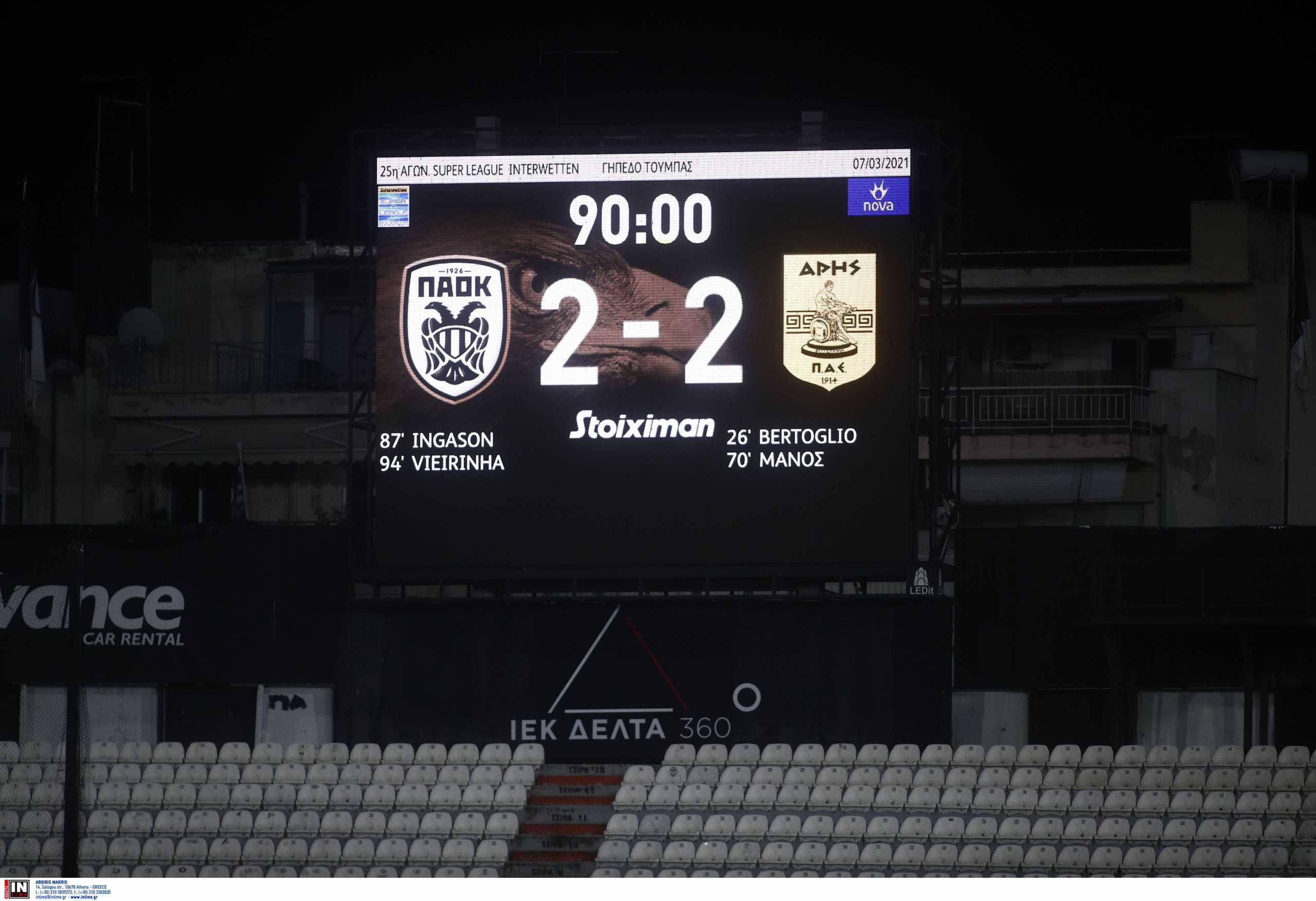 ΠΑΟΚ: Οι οπαδοί τα «έχωσαν» στους παίκτες έξω από την Τούμπα