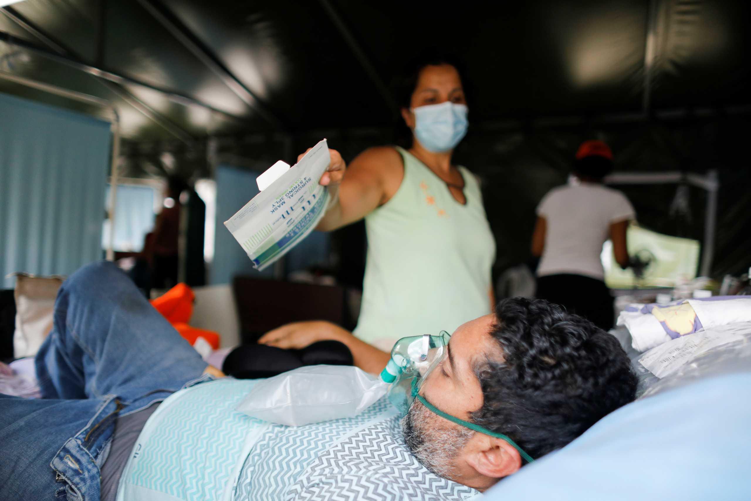 Βενεζουέλα: Ρεκόρ 1.288 κρουσμάτων από κορονοϊό σε ένα 24ωρο