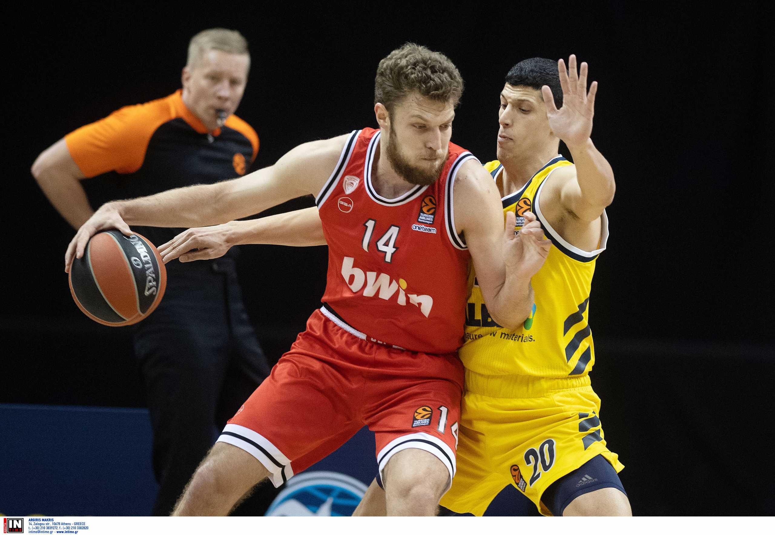 Euroleague: ΜVP της 30ης αγωνιστικής ο Βεζένκοφ