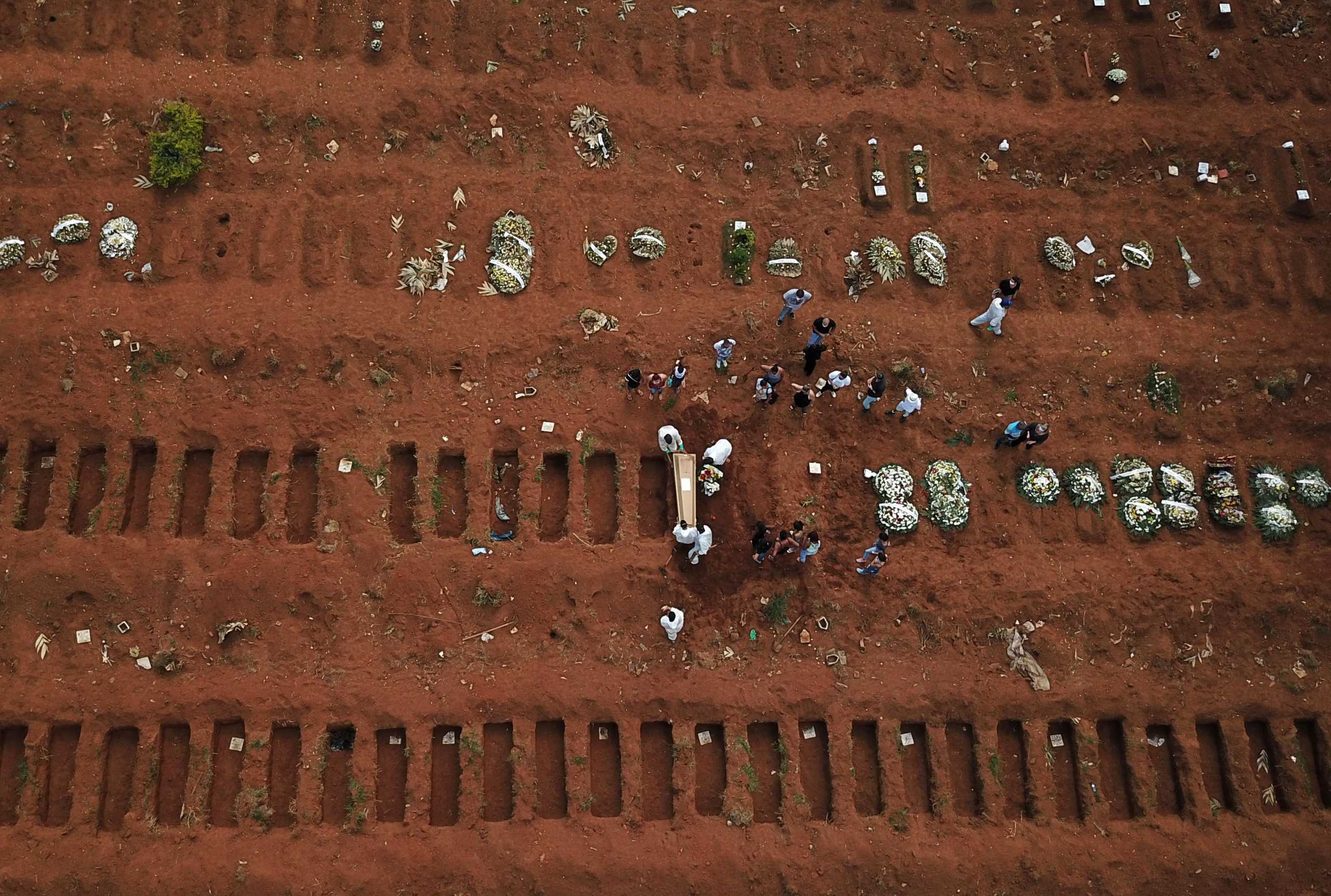 Βραζιλία: 2.929 θάνατοι από κορονοϊό και 76.636 κρούσματα το τελευταίο 24ωρο