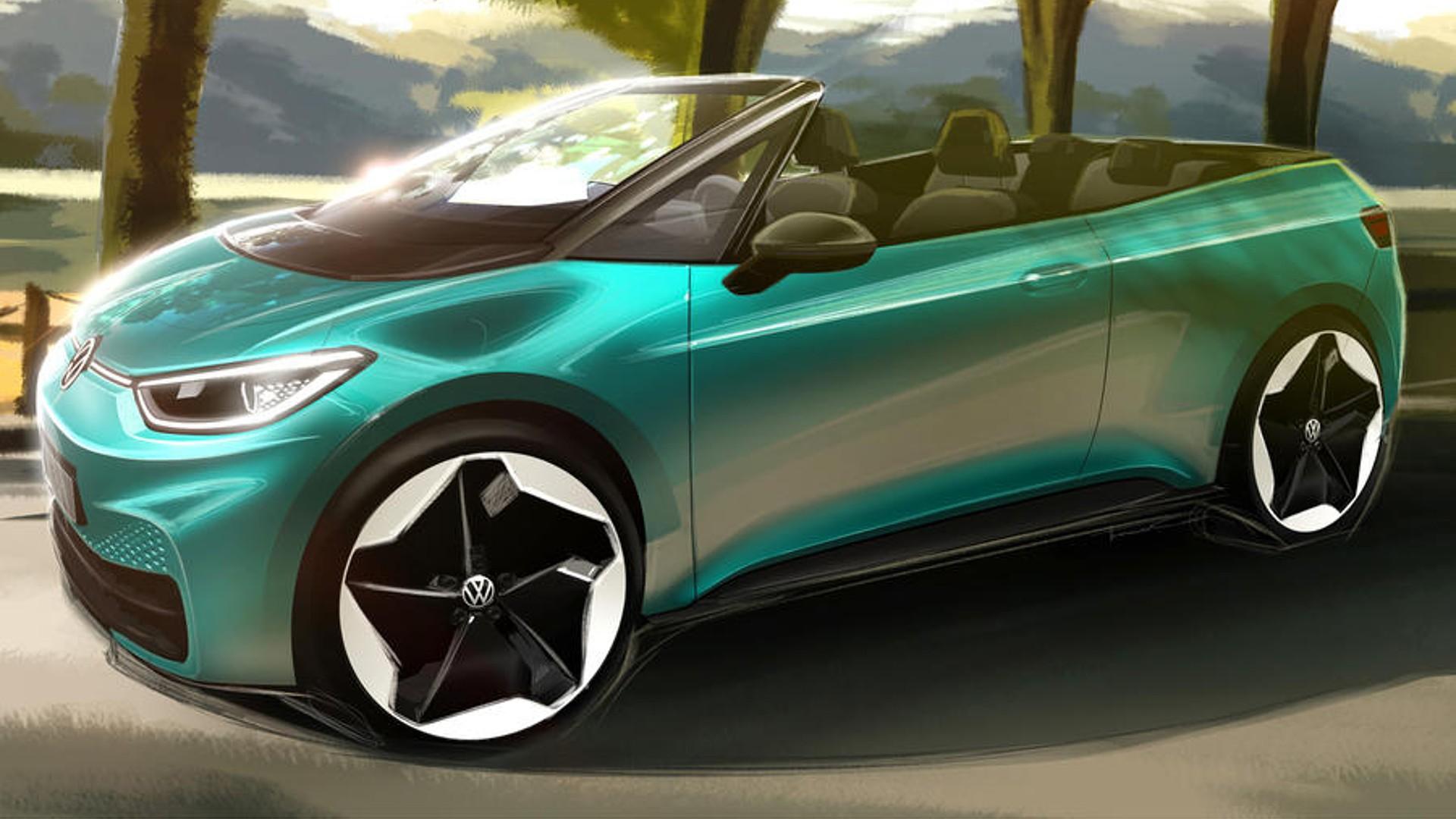 Η Volkswagen ετοιμάζει το πρώτο της ηλεκτρικό κάμπριο! [pics]