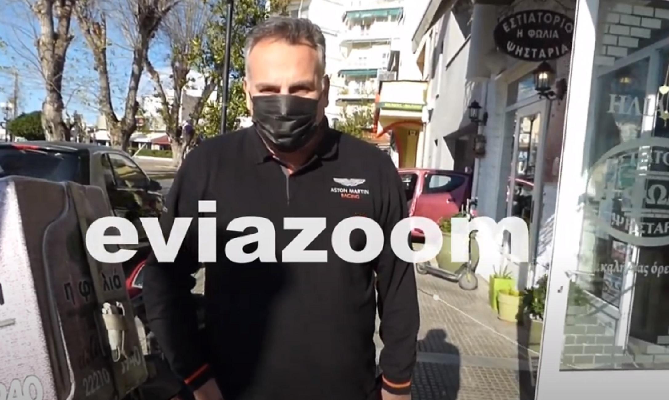 Εύβοια – Κορονοϊός: «Κόλλησα στην ουρά έξω από τράπεζα» – Η εξομολόγηση του δικηγόρου στην κάμερα (video)