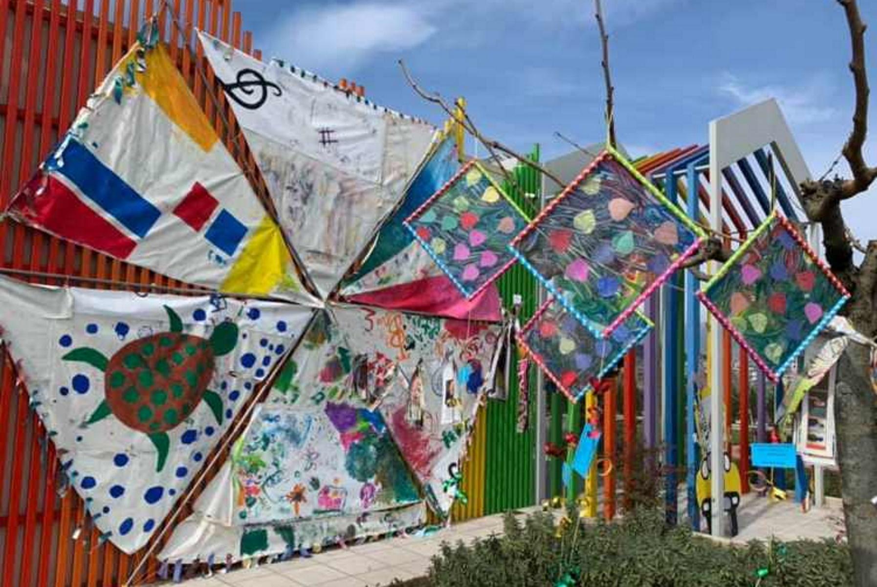 Ιωάννινα: Ο μεγαλύτερος χαρταετός φτιάχτηκε από παιδικά χεράκια (pics)