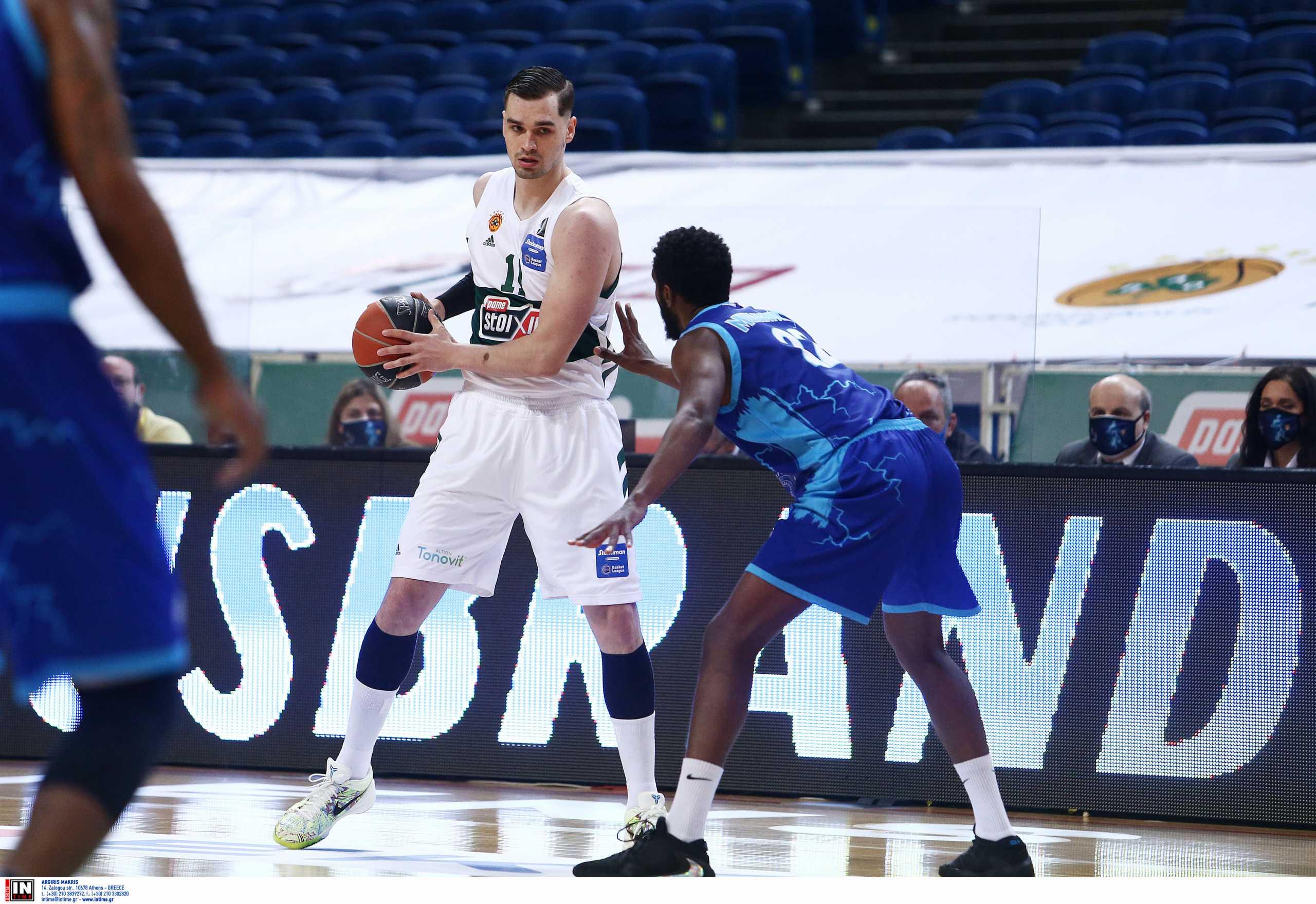 Παναθηναϊκός: Έτσι άνοιξε «λογαριασμό» στην Basket League ο Χεζόνια (video)