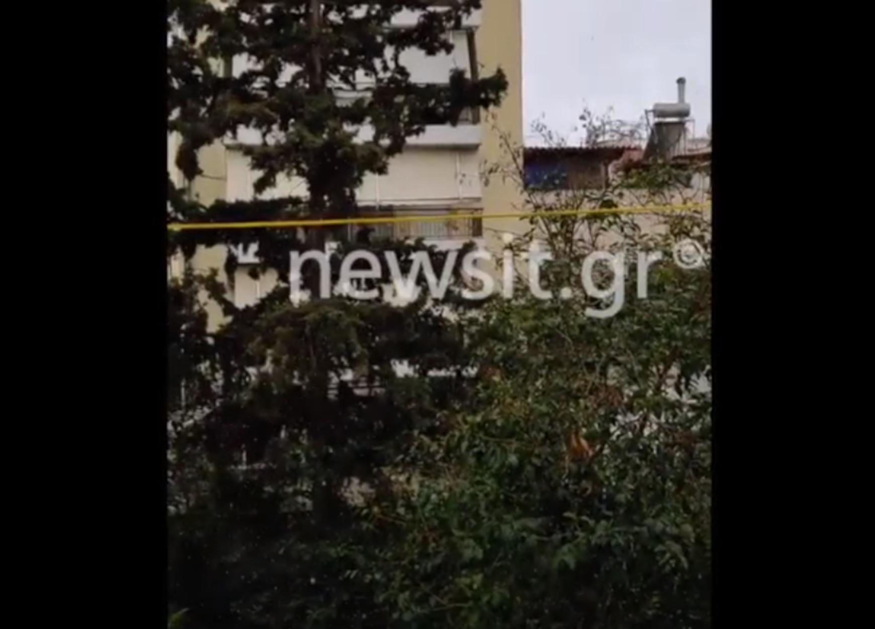 Καιρός: Χιόνια στην Αθήνα (video)
