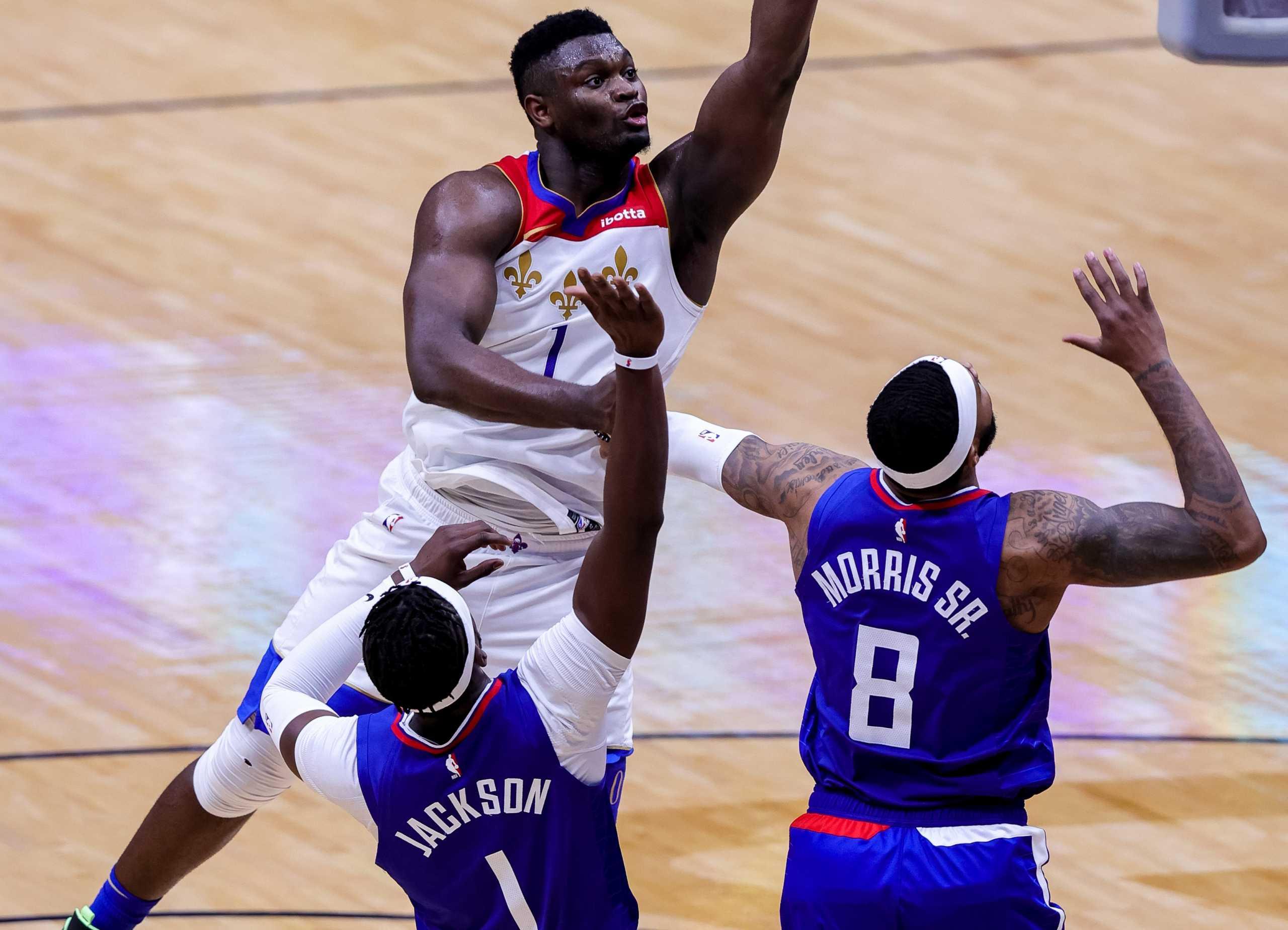 Ο Ζάιον «διέλυσε» του Κλίπερς – Τα αποτελέσματα στο NBA (video)